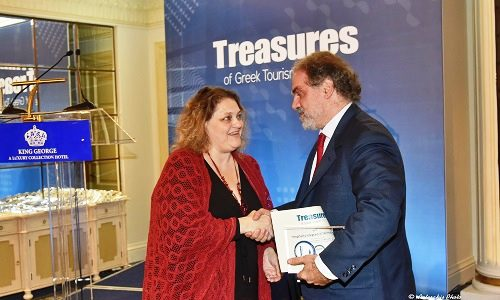 treasures of greek tourism 2017